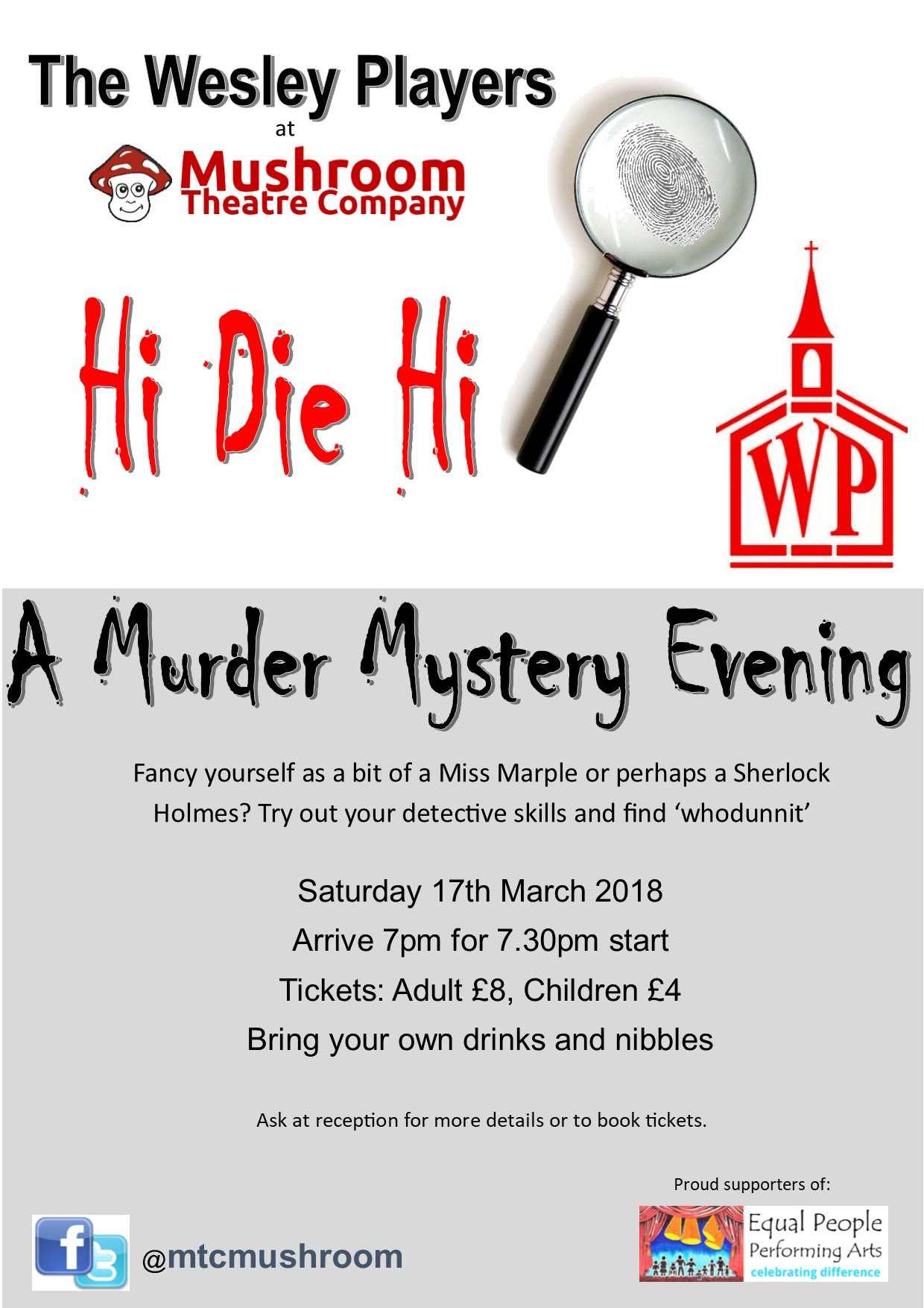 Murder Mystery Night – 17 March